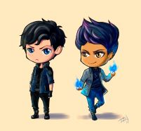 aa0b85e47fe9fb11b001ea0775e9d80f--shadowhunters-malec-art-ideas