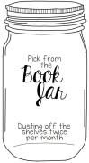Pick-from-the-book-jar
